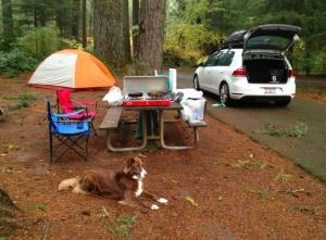Silver Falls Camping